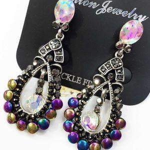 Jewelry - Rhinestone and Marcasite Earrings